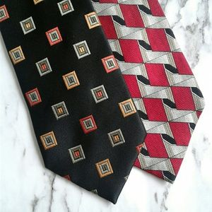 Lot of 2 Designer Ties BCBG Countess Mara